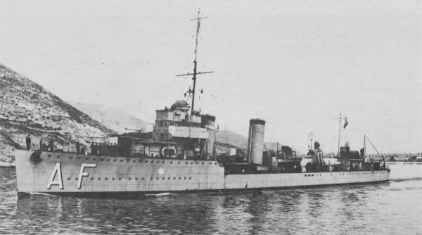 Destroyer Almirante Ferrándiz