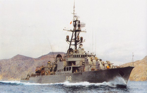Destroyer Roger de Lauria